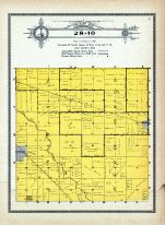 Township 28 Range 10, Verde Gris, Inman, Holt County 1915